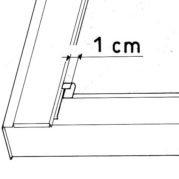 Külső árnyékolók 1 cm
