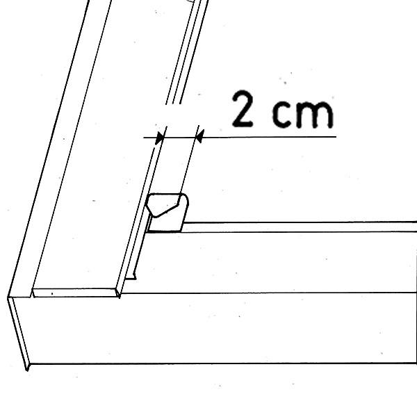 Külső árnyékolók 2 cm