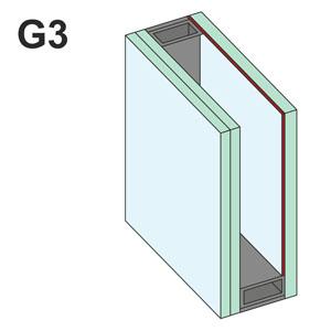 g3 háromrétegű üvegezés